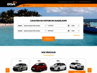 Louer une voiture en Guadeloupe - BSA Location