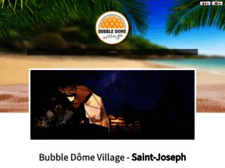 Détails : Bubble Dôme Village. Location de vacances.