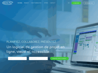 Buuble Plan : logiciel de gestion de projets