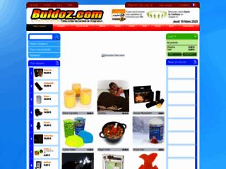 Détails : Buldoz, boutique de cadeaux originaux