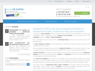 Détails : Nathalie DE CLERCQ, expert-comptable et fiscaliste sur Viesville/Pont-à-Celles