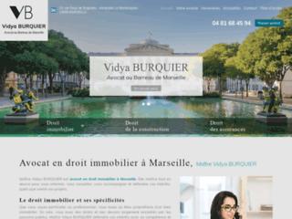 Avocat en droit immobilier à Marseille, maître Vidya Burquier