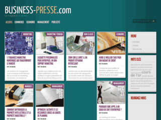 Détails : Le magazine business et finance
