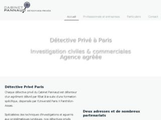 Cabinet Pannaud Détective Privé Paris