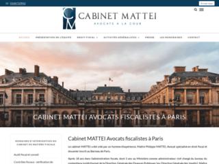 Cabinet MATTEI : Avocats fiscalistes à Paris