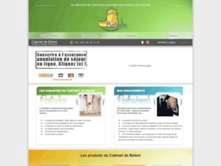 Détails : Assurance annulation vacances : Cabinet de Belem