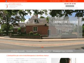 Cabinet de kinésithérapie à Gembloux