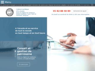 Le Cabinet juridique d'Occitanie
