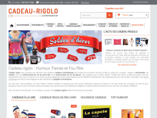 Cadeau rigolo, boutique en ligne d'articles marrants