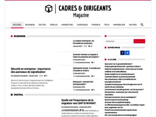 Pourquoi devriez-vous consulter le site cadresetdirigeants-magazine.com?