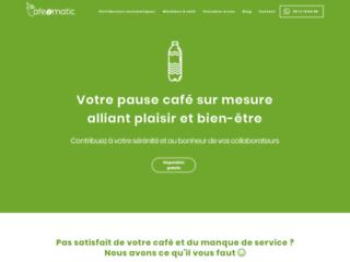 Cafeomatic : Distributeur automatique de boissons chaudes