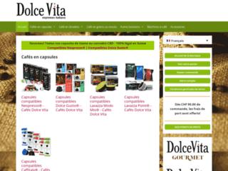 Détails : Caffè Dolce Vita: machines à café et cafés en capsules