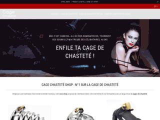 Détails : Cage Chasteté Shop