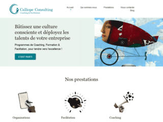 Calliope Consulting, formation et coaching en entreprise