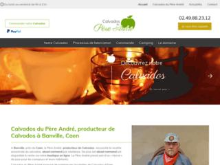 Calvados du Père André, producteur de Calvados à Banville près de Caen