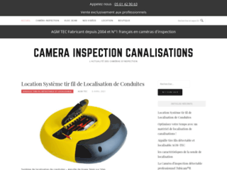 Camera inspection canalisation