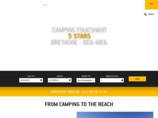 Camping Sunélia L'Atlantique en Bretagne