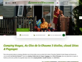 Détails : Camping Vosges Le Clos de La Chaume
