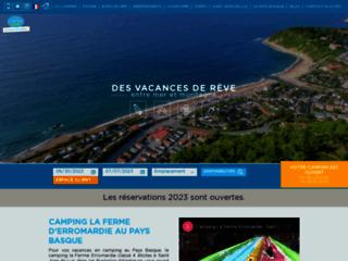 Détails : Camping au Pays Basque