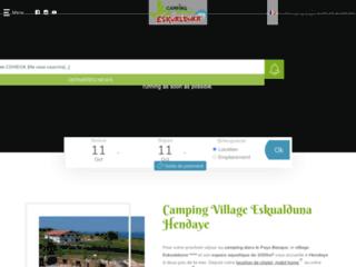 Réservez en ligne vos vacances au camping Eskualduna