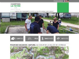 Camping la Teyre **