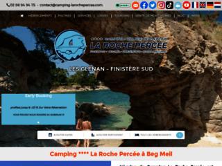 Détails : Camping de la Roche Percée, camping à Fouesnant les Glenan