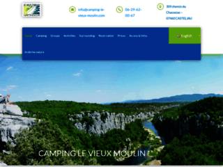 Camping le vieux Moulin **