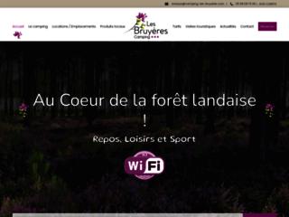 Détails : Camping Les Bruyeres