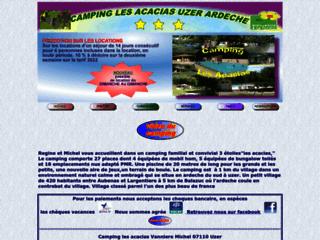 Camping les Acacias ***