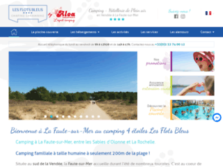Détails : Camping 4 étoiles en Vendée près de la Tranche sur Mer