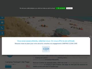 Détails : Camping 3* Bord de mer Fouesnant