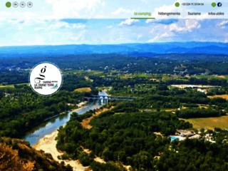 Détails : Camping de la Grand'Terre - Ruoms - Ardèche