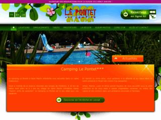 Le Pontet - Camping ***