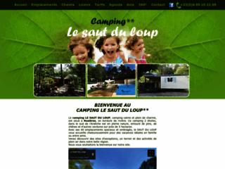 Le Saut du Loup - Camping