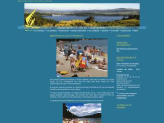 Camping des bords du lac d'Issarlès