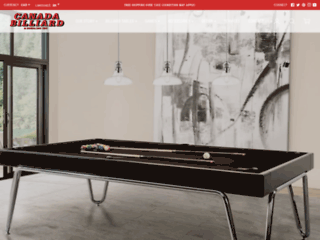 Détails : Canada Billard & Bowling | Tables et accessoires de billard