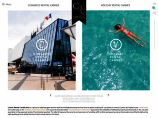 Cannes Rentals Certification location d'appartements meublés à Cannes