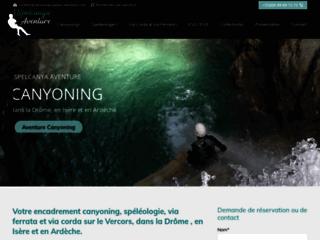 canyoning-speleo-aventure