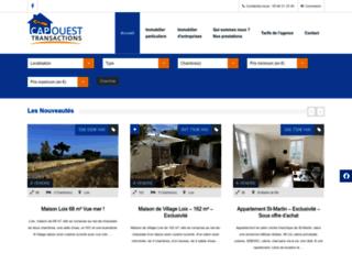 Agence Immobiliére Capouest Transactions