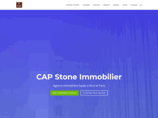 Cap Stone Immobilier, au service de vos affaires immobilières