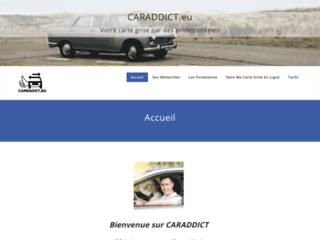 Trouver une voiture de sport sur caraddict.eu