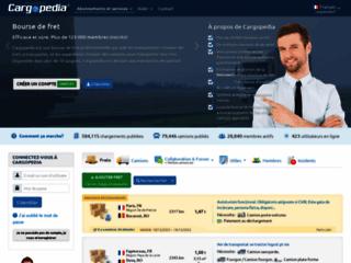 Détails : La bourse de fret Cargopedia