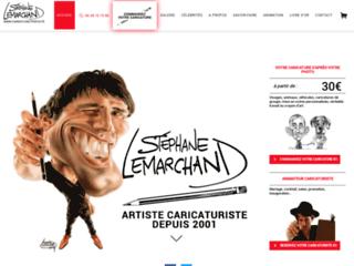 Caricaturiste Stéphane Lemarchand