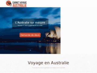Carnet de voyage en Australie : destinations touristiques inoubliables