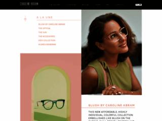 Détails : Caroline Abram designer de bijoux en lunetterie