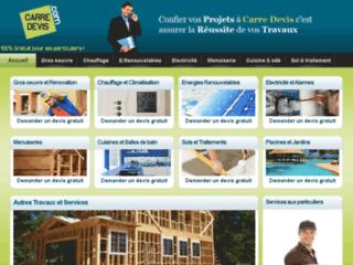 Détails : Devis travaux gratuits en ligne avec Carre Devis