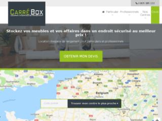 Carrebox, location de garde meuble à Lille