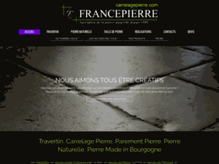 Carrelagepierre.com spécialiste du carrelage pierre depuis 1985