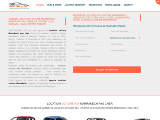 location de voiture à Marrakech pas cher