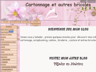 Cartonnage et autres bricoles